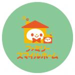 ロゴ背景パステルグリーン
